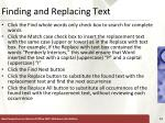 finding and replacing text13