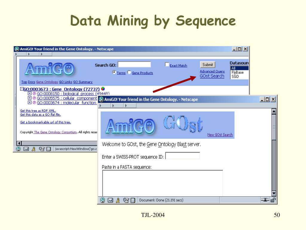 Data Mining by Sequence