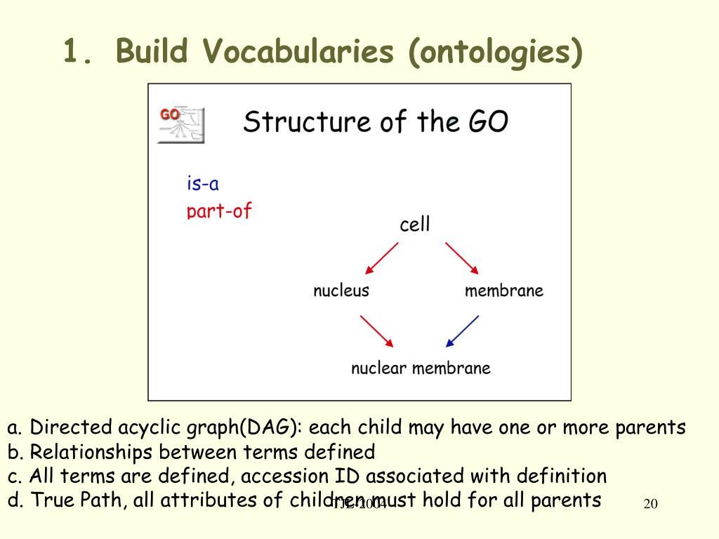 Build Vocabularies (ontologies)