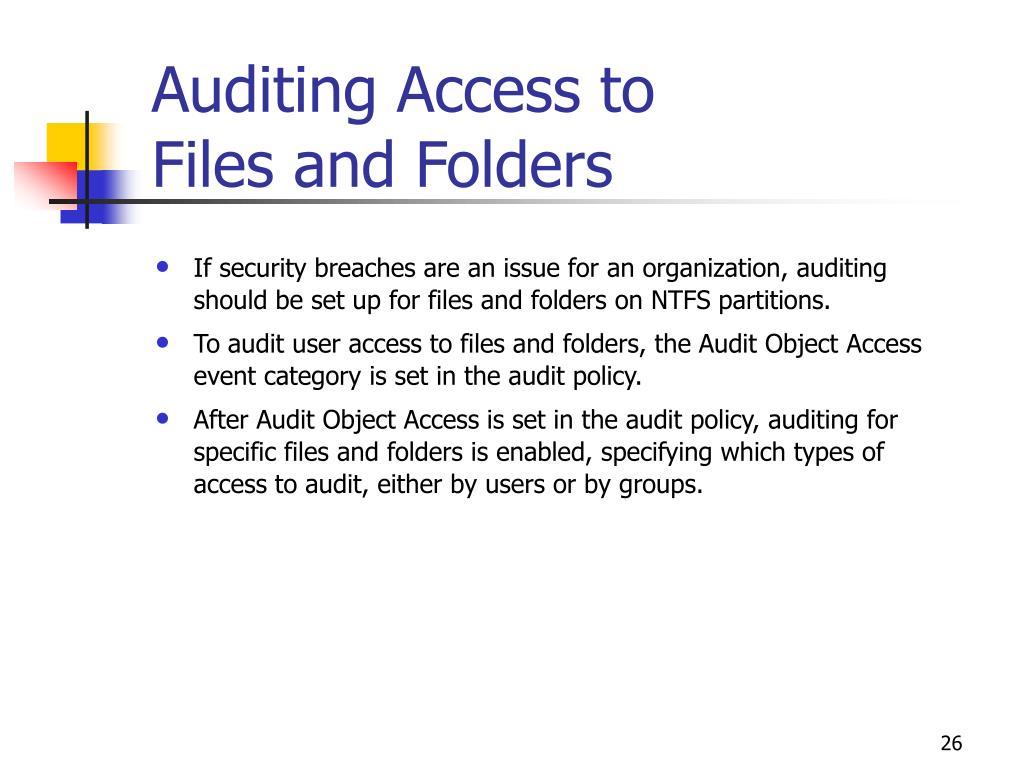 Auditing Access to