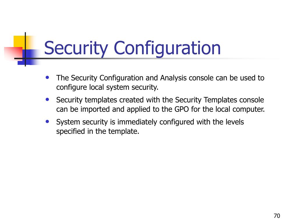 Security Configuration