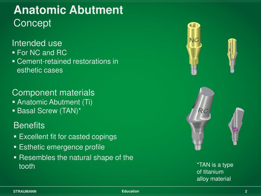 Anatomic Abutment