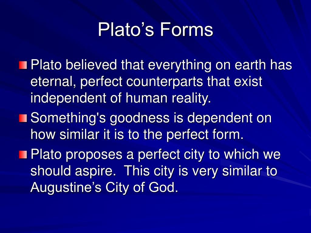 Plato's Forms