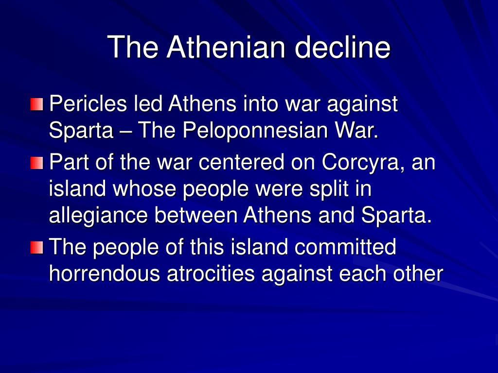The Athenian decline