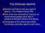 the athenian decline