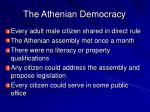 the athenian democracy