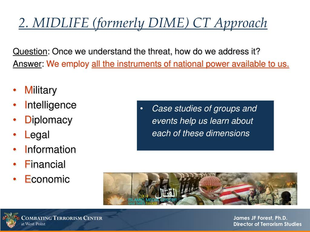 2. MIDLIFE (formerly DIME) CT Approach