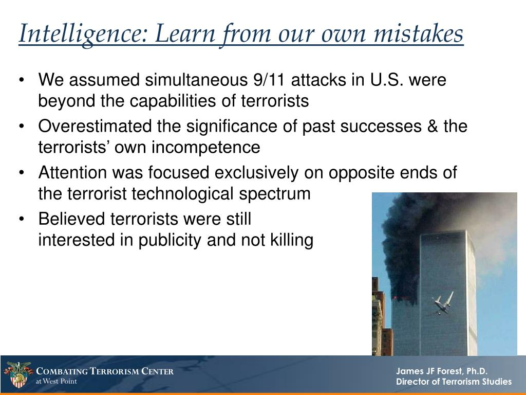 Intelligence: Learn from our own mistakes