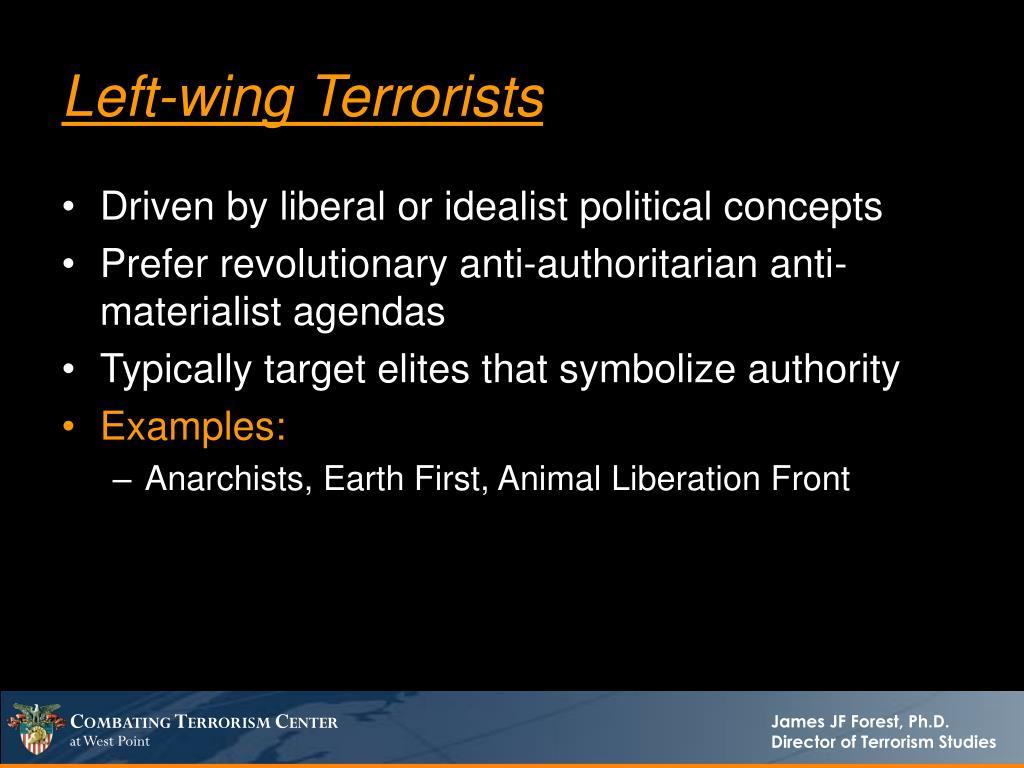 Left-wing Terrorists