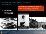marine barracks beirut lebanon 23 october 198348