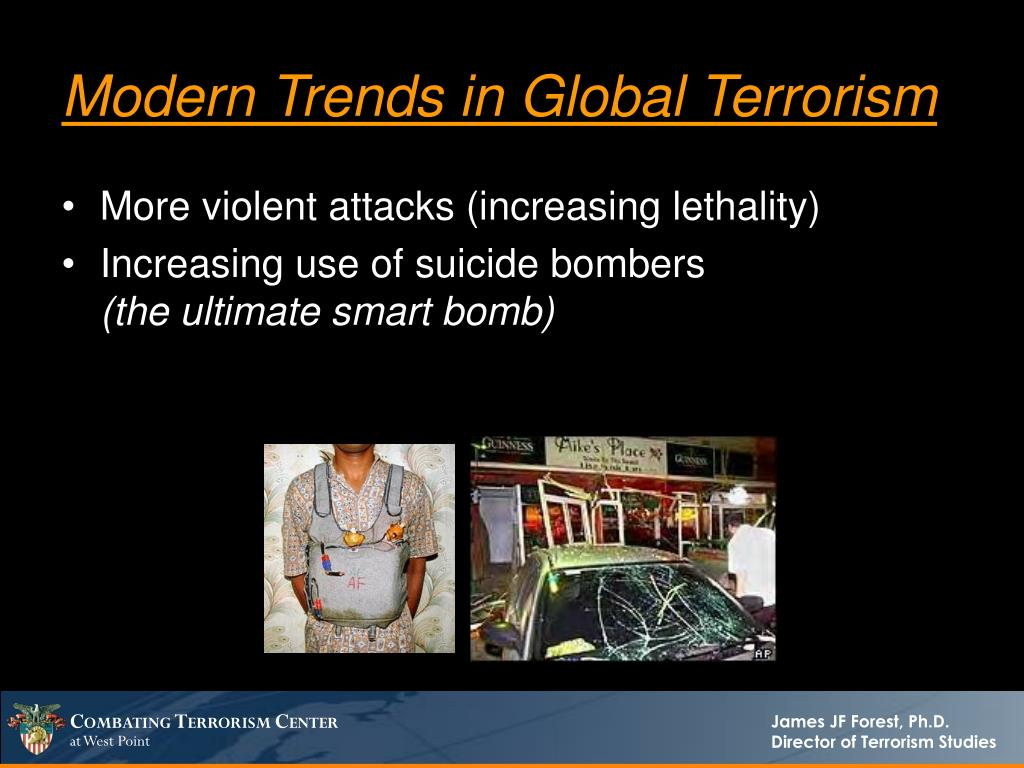 Modern Trends in Global Terrorism