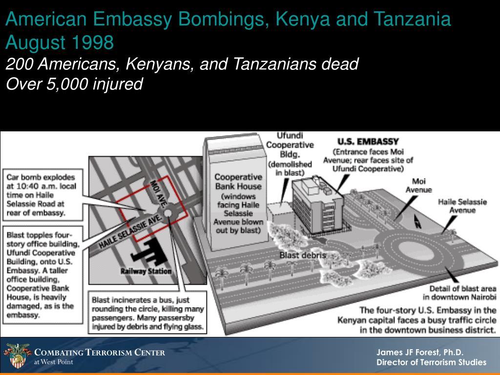 American Embassy Bombings, Kenya and Tanzania