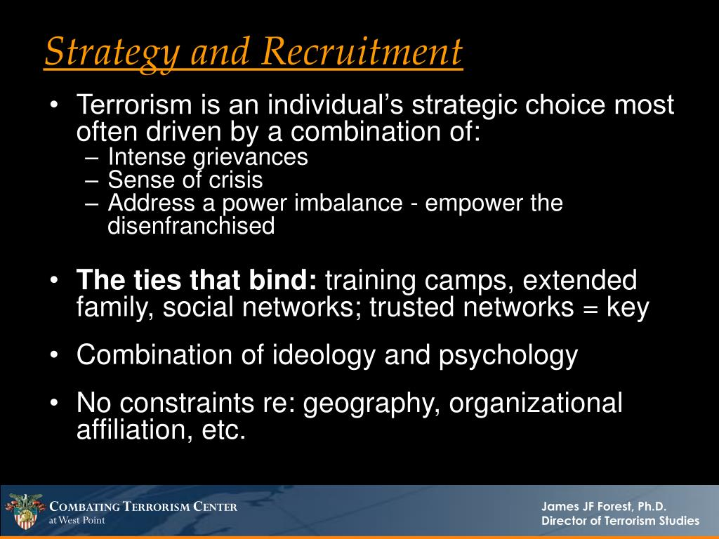 Strategy and Recruitment