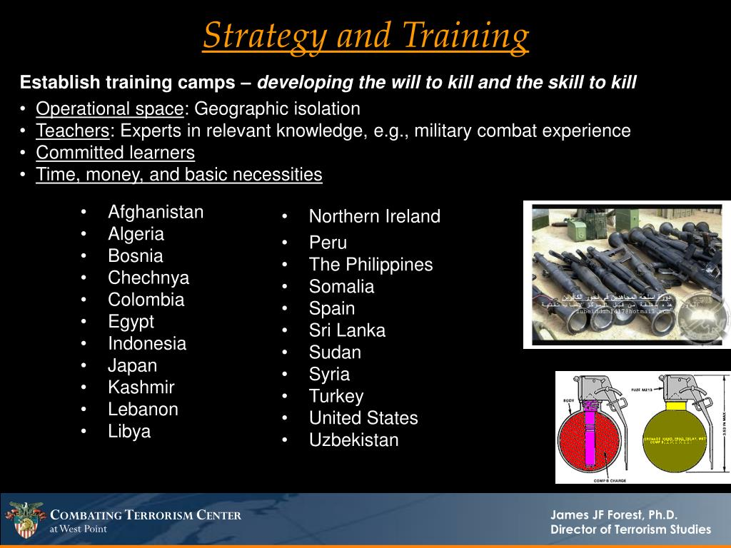 Strategy and Training
