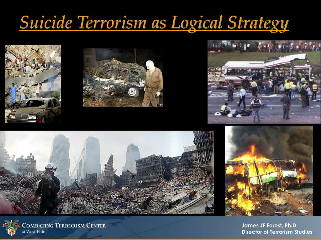 Suicide Terrorism as Logical Strategy