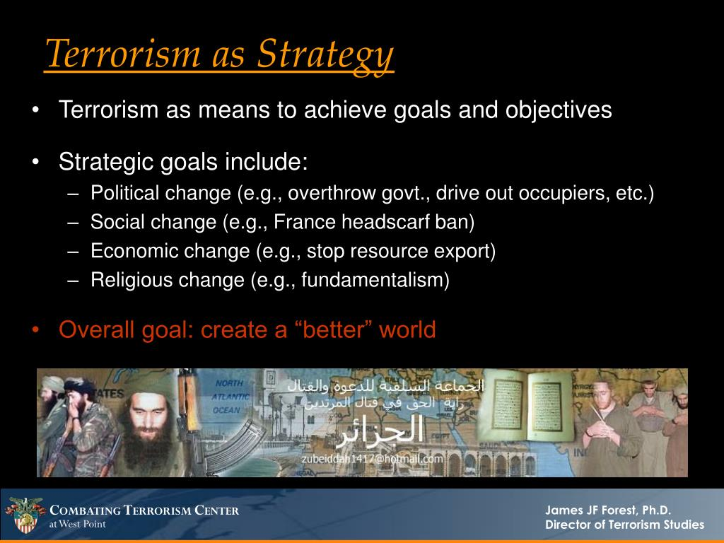 Terrorism as Strategy