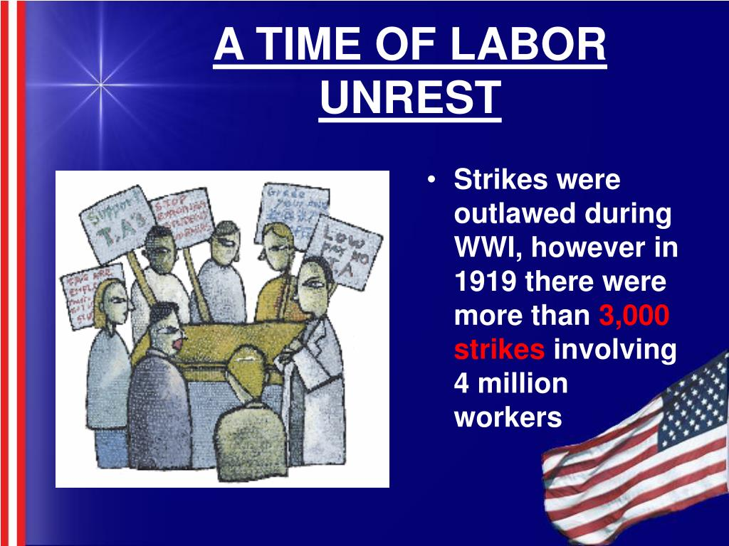A TIME OF LABOR UNREST