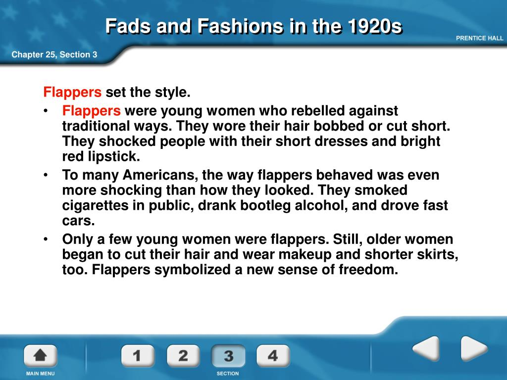Fads and Fashions in the 1920s