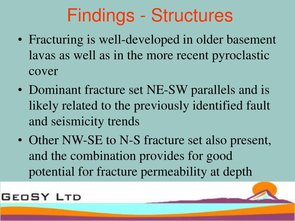 Findings - Structures