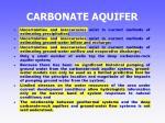 carbonate aquifer35