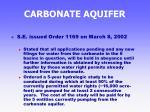 carbonate aquifer38