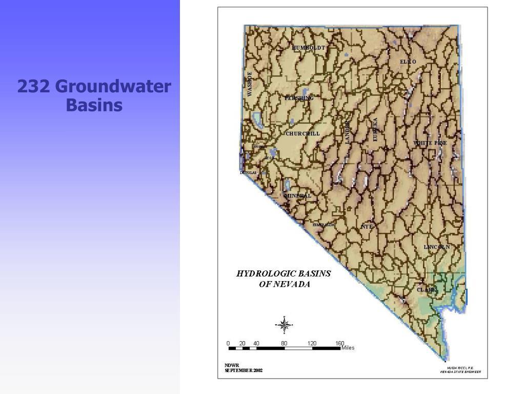 232 Groundwater Basins