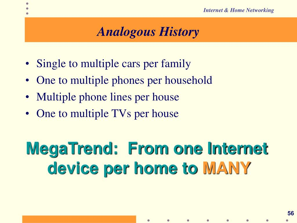 Analogous History