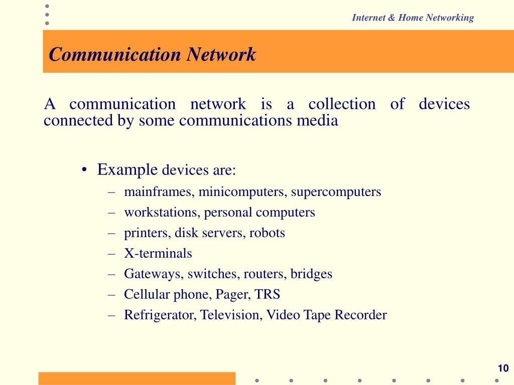 Communication Network