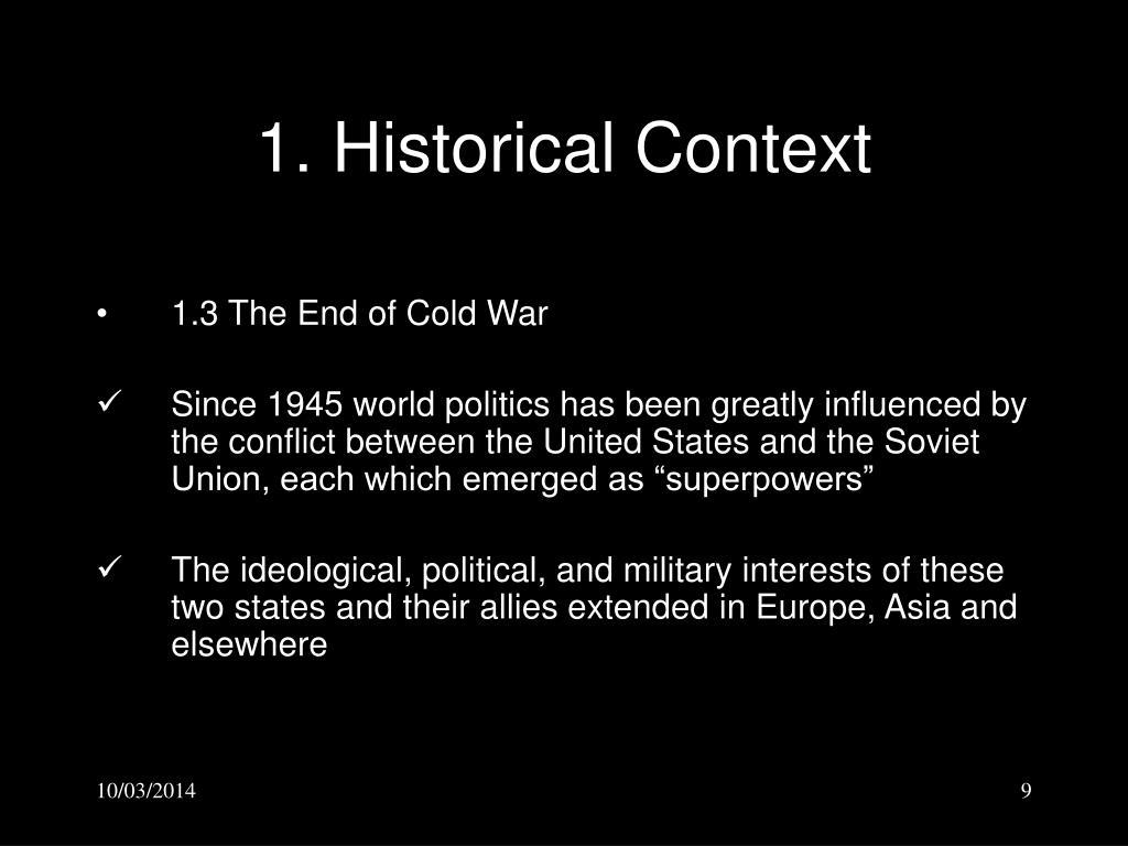 1. Historical Context