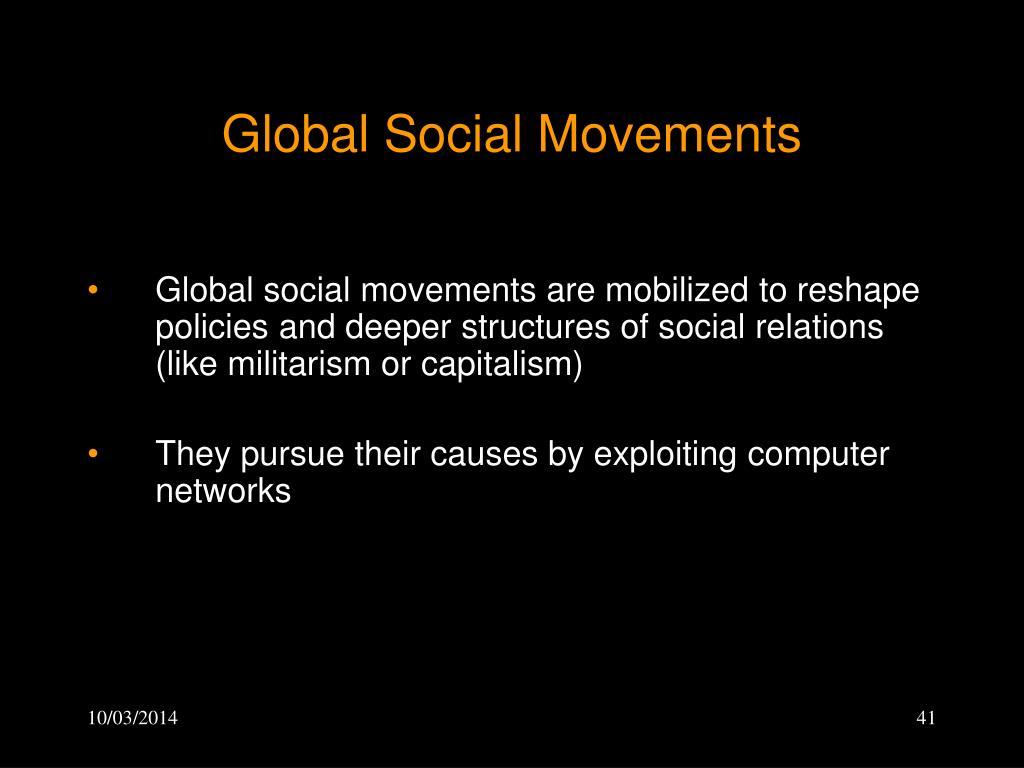 Global Social Movements