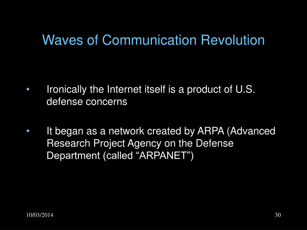 Waves of Communication Revolution