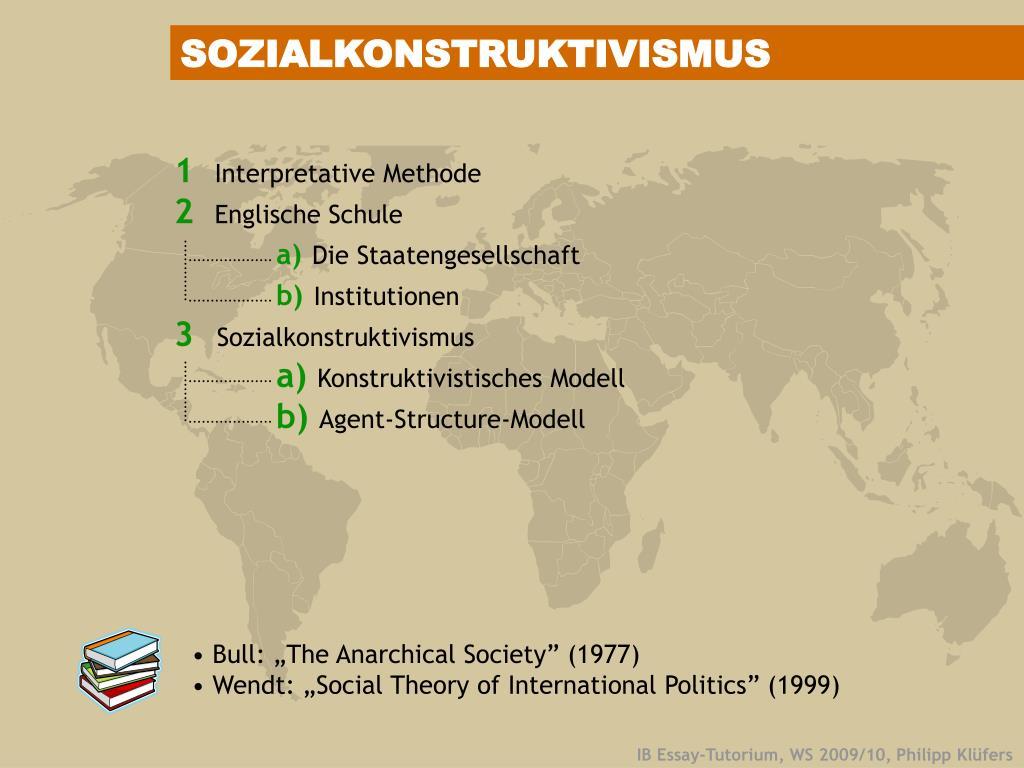 SOZIALKONSTRUKTIVISMUS