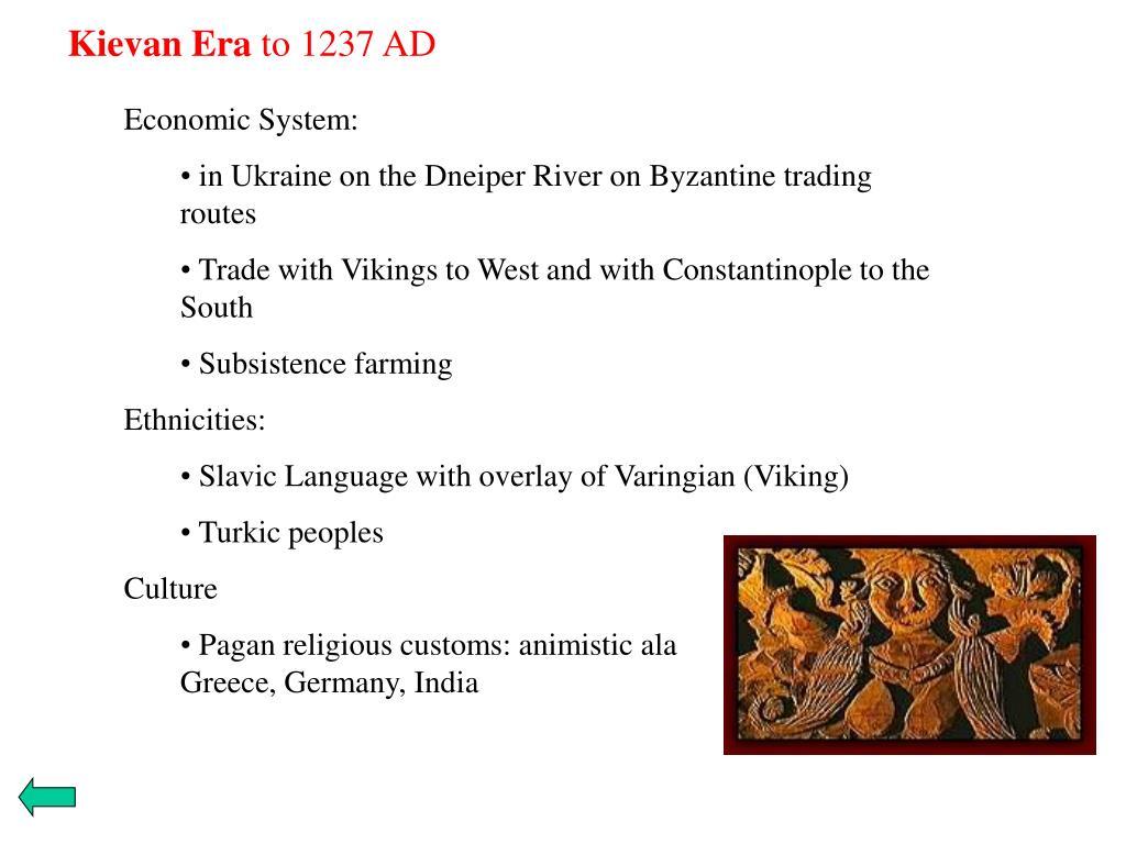 Kievan Era