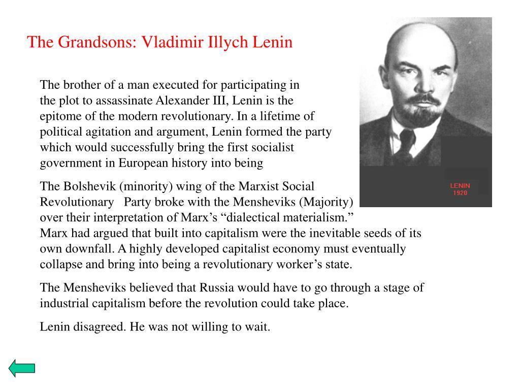 The Grandsons: Vladimir Illych Lenin