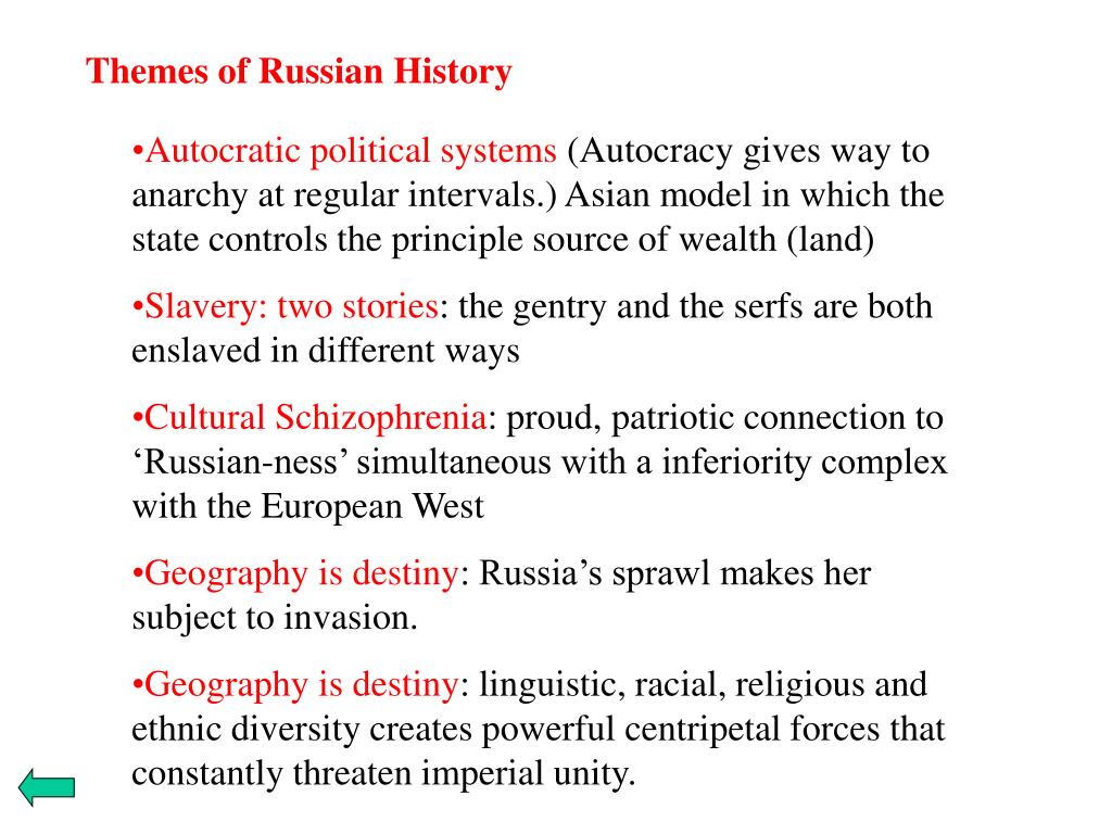 Themes of Russian History