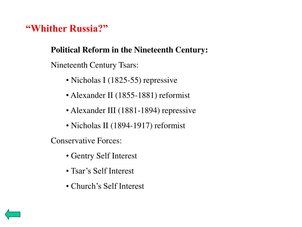 """""""Whither Russia?"""""""
