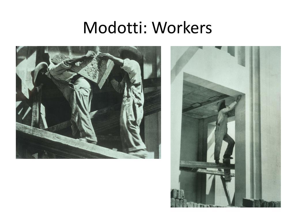 Modotti: Workers