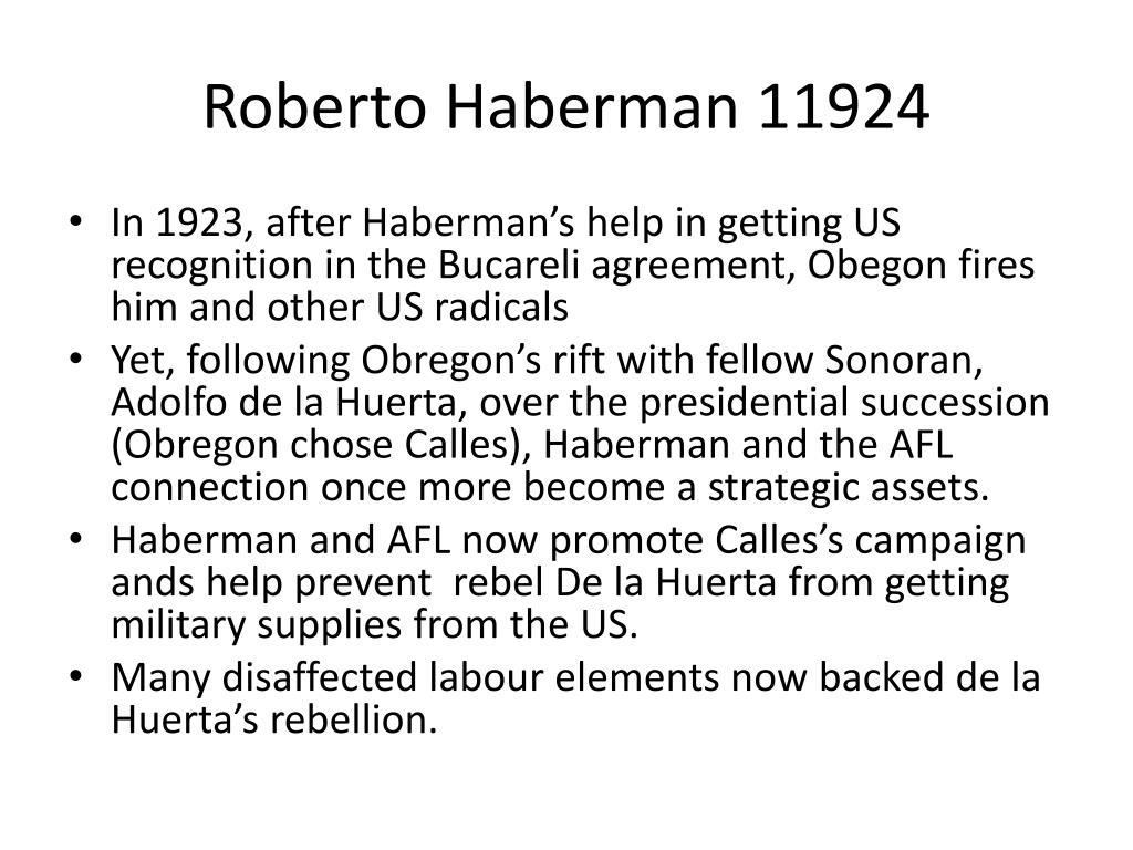 Roberto Haberman 11924