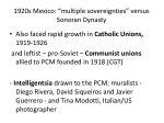 1920s mexico multiple sovereignties versus sonoran dynasty9