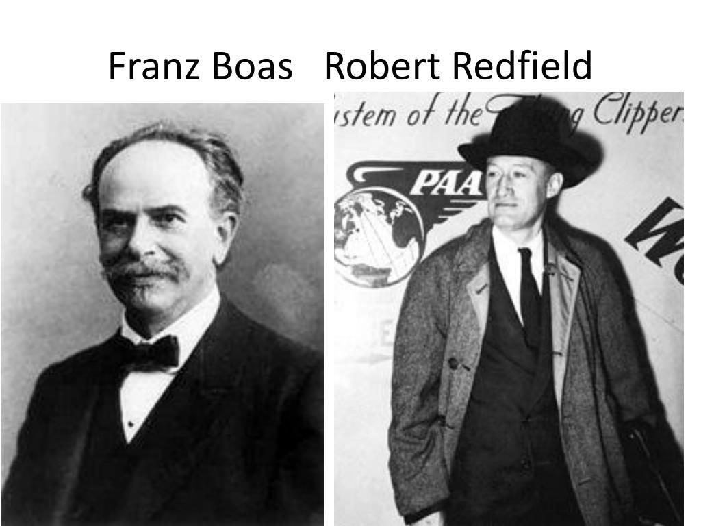 Franz Boas   Robert Redfield