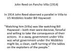 john reed on pancho villa 1914