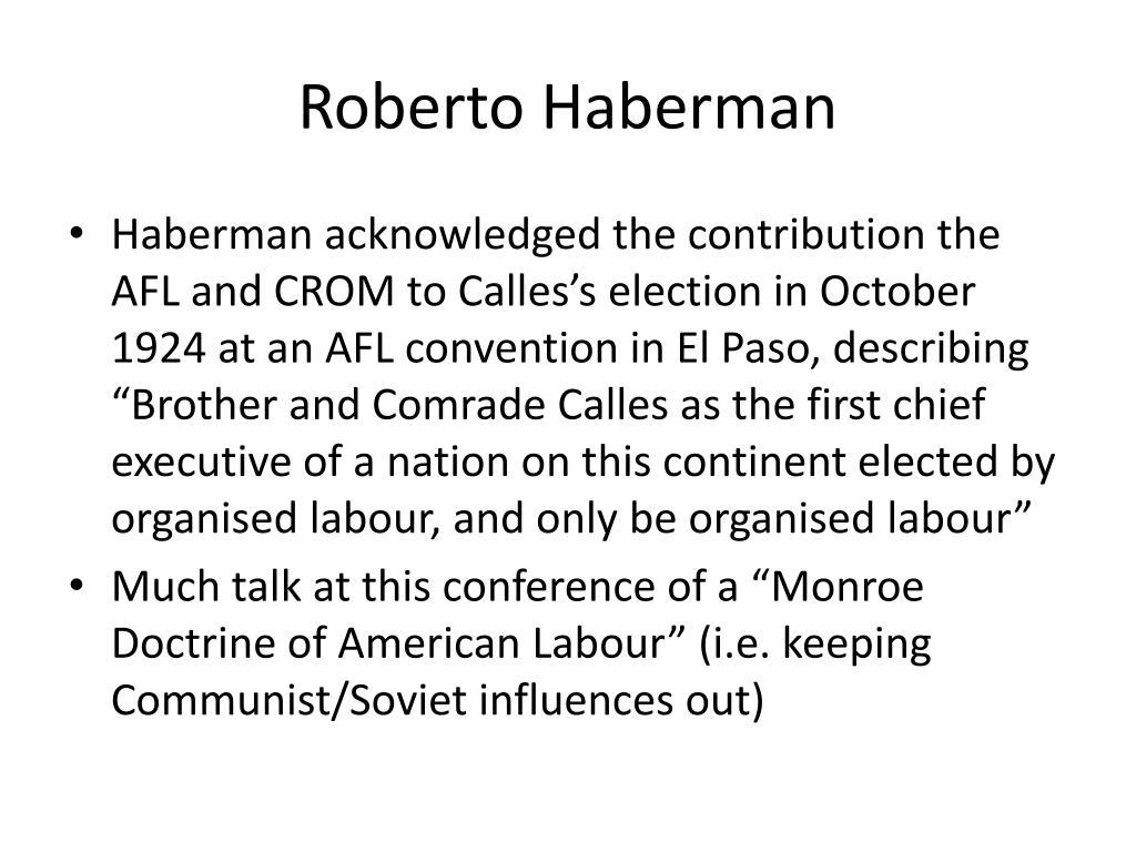 Roberto Haberman