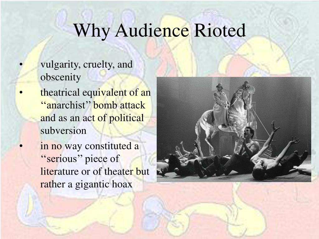 Why Audience Rioted