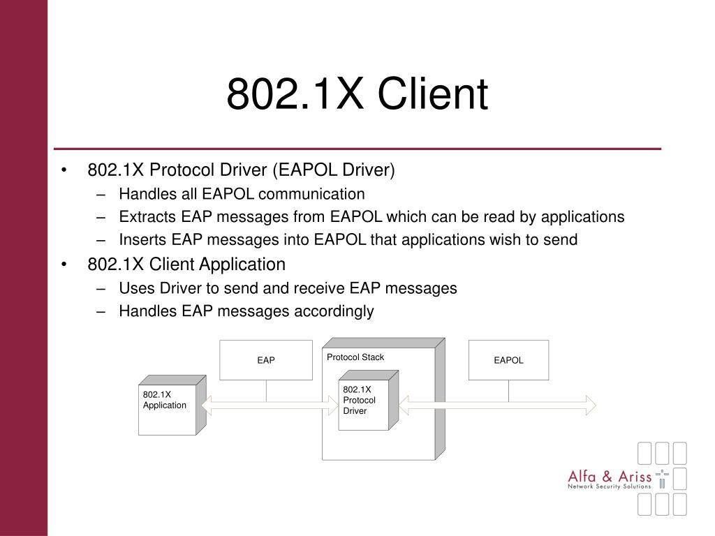 802.1X Client