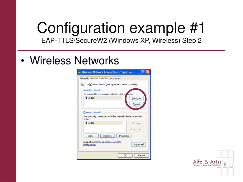 Configuration example #1