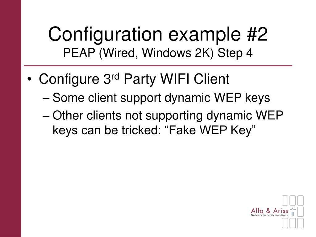 Configuration example #2
