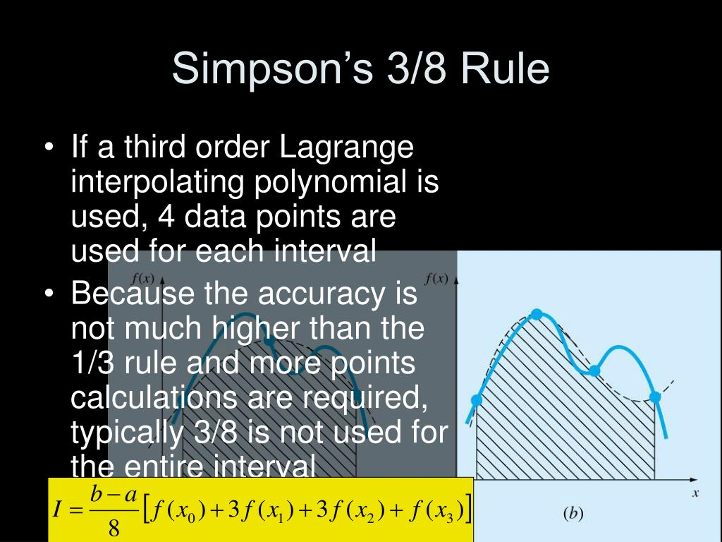 Simpson's 3/8 Rule