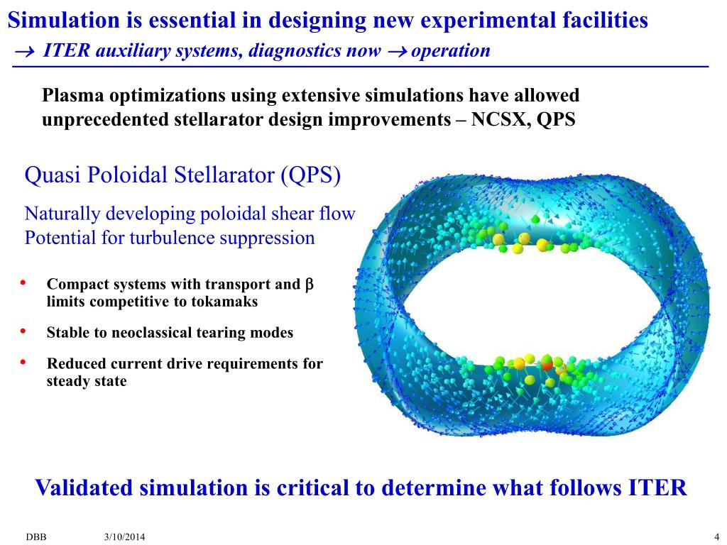 Simulation is essential in designing new experimental facilities