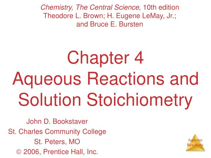 Chapter 4 aqueous reactions and solution stoichiometry l.jpg