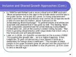 inclusive and shared growth approaches cont37